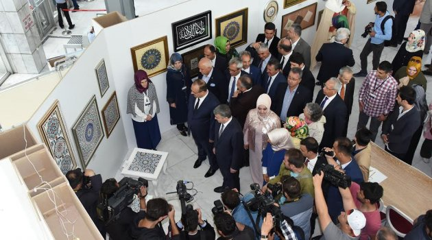 """13. Altın Dokunuşlar """"Endülüs'ten Selçukluya"""" Sergisi Açıldı"""