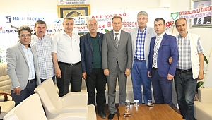 Cemiyetten Karabacak'a ziyaret