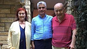 Gün'den Prof Öz'e ziyaret