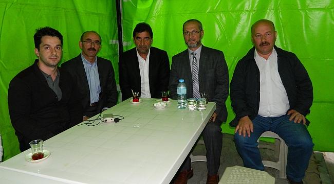 Trabzonlular'dan Karaman ailesine taziye ziyareti