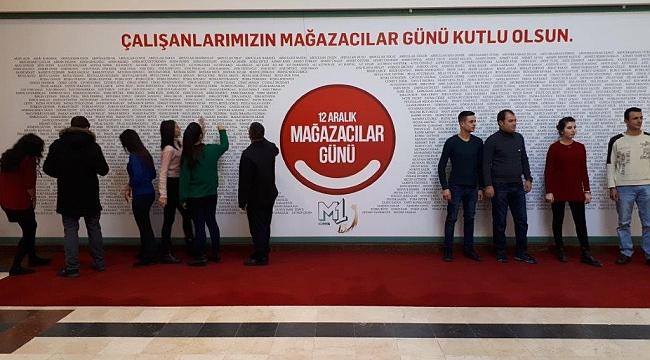 M1 Konya AVM'den çalışanlar sürpriz