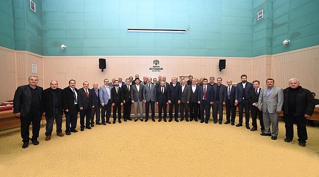 Büyükşehir Meclisi'nde Ahde Vefa