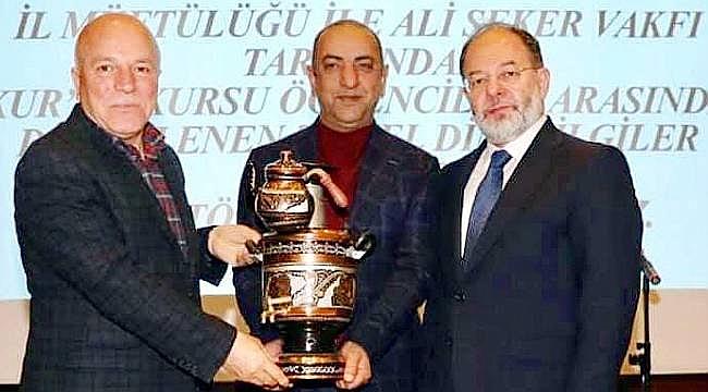 Ali Şeker Vakfı ödülleri verildi