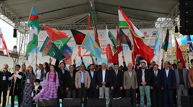 12. Uluslararası Öğrenci Buluşmaları Konya'da