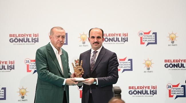Erdoğan'dan Altay'a
