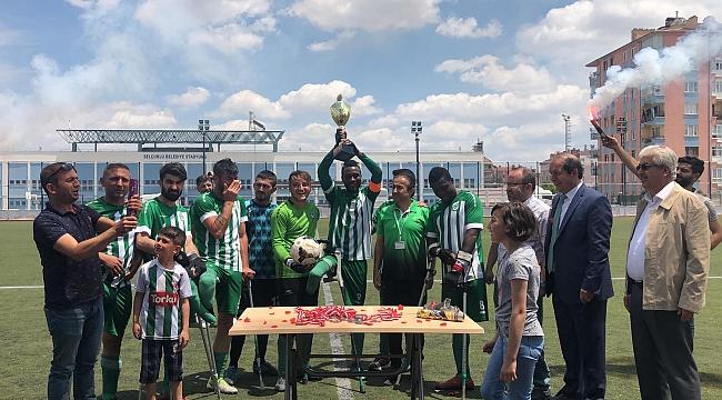 Konya Engelliler Gücü Ampute Kupasını aldı