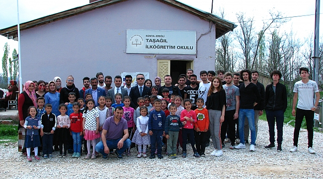 Köy Okullarına Geleneksel Yardım Etkinliği