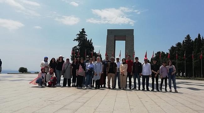 AKİP'den Çanakkale ve Bursa gezisi