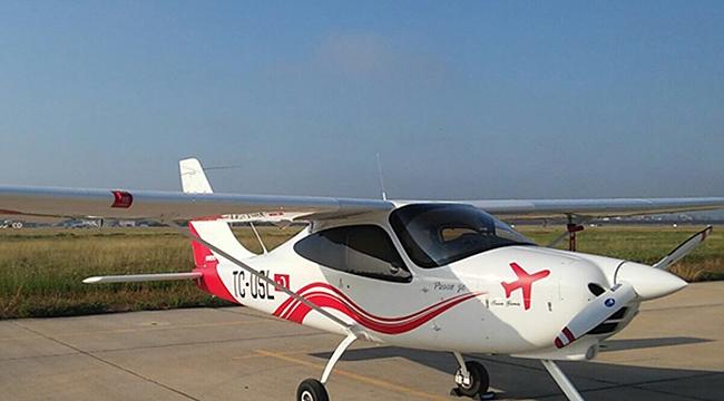 Selçuk Üniversitesi ilk uçağını aldı