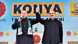 Cumhurbaşkanı Erdoğan Pazar günü Konya'da