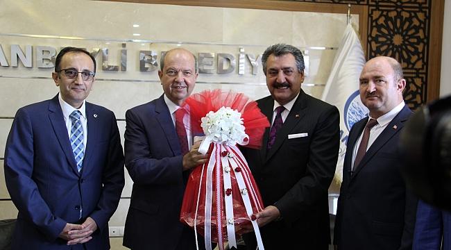 KKTC Başbakanı ERSİN Tatar Cihanbeyli'de