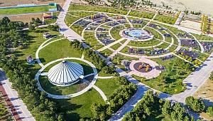 Konya'nın gözdesi; dutlu millet bahçesi