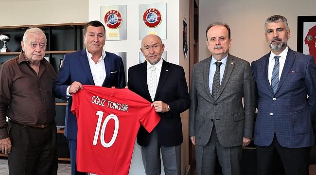 TSYD'den Futbol Federasyonuna ziyaret