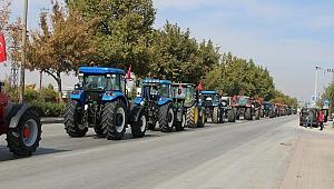 Çiftçilerden TSK'ya destek