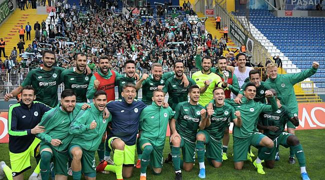 Konyaspor deplasmanda  farklı galip 4-1