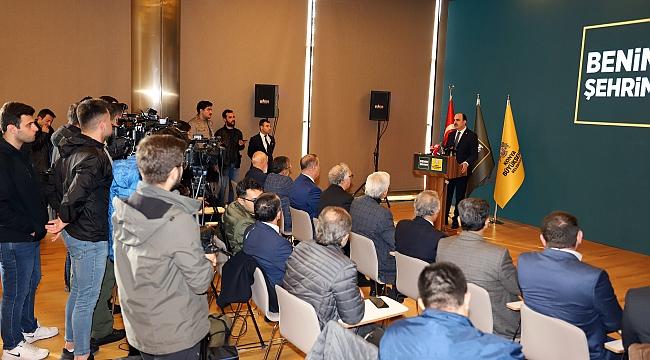 Altay Konya Basınıyla Bir Araya Geldi