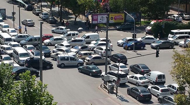 Konya'daki araç sayısı arttı