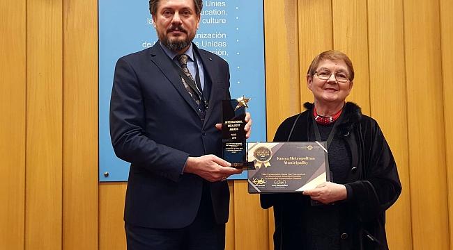 Büyükşehir'e UNESCO'dan ödül
