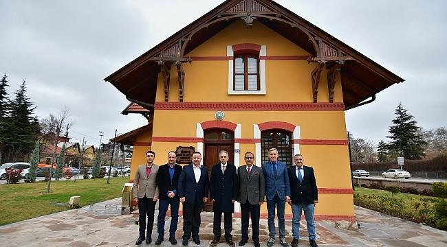 Vali Toprak'tan TSYD Konya'ya yılın ilk ziyareti