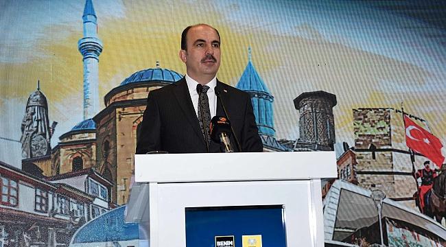 """Altay: """"Konya'mızı Geleceğe Taşımak Hepimizin Görevi"""""""