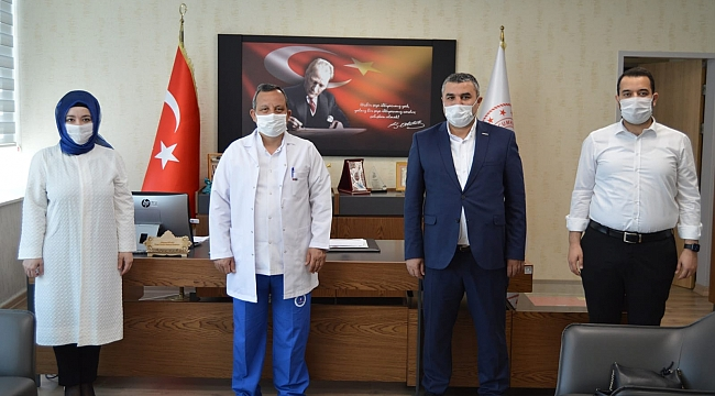 ASKON Konya 100 bin maske dağıttı