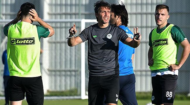 Konyaspor takım çalışmalarına başladı