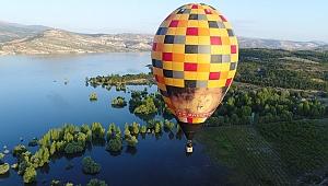 Konya'da Balon Turizmi İçin Test Uçuşu