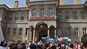 Konya'da gösteri yürüyüşleri yasaklandı