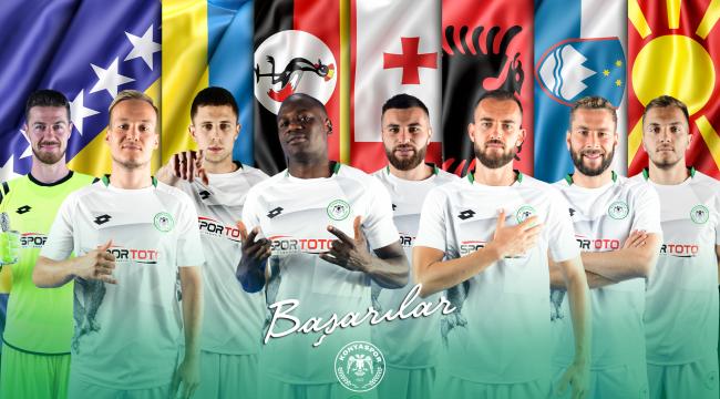 Konyaspor'dan 8 futbolcu milli takımlarına davet edildi