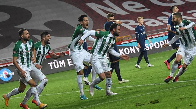 Konyaspor'dan soğukta ısıtan galibiyet  2-1