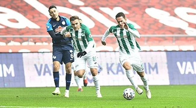 Konyaspor sahasında yine kayıp! 1-1