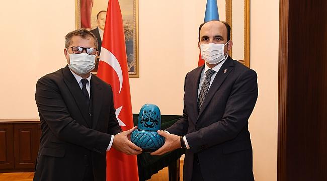 Altay Azerbaycan Büyükelçisi'ni Ziyaret Etti