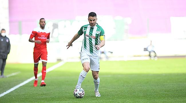 Konyaspor'da kötü gidişat sürüyor 0-0