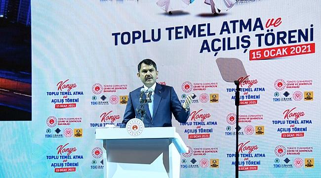Kurum: Konya'yı dünyanın en güzel şehri yapacağız