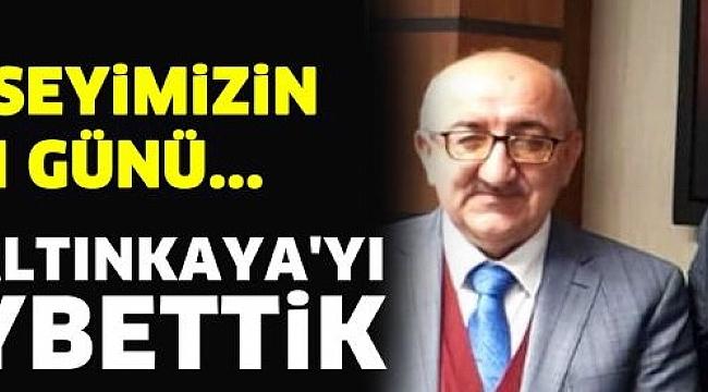 Usta gazeteci Veli Altınkaya hayatını kaybetti