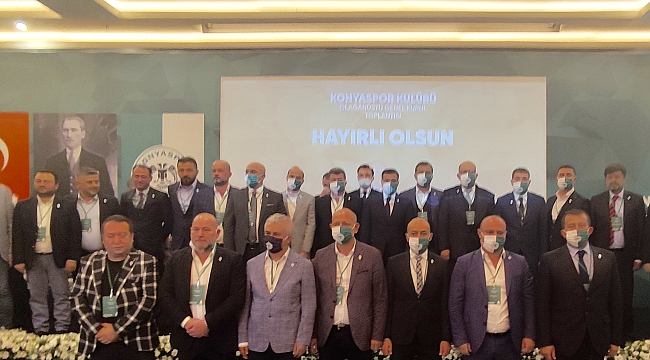 İşte Konyaspor'un yeni yönetimi