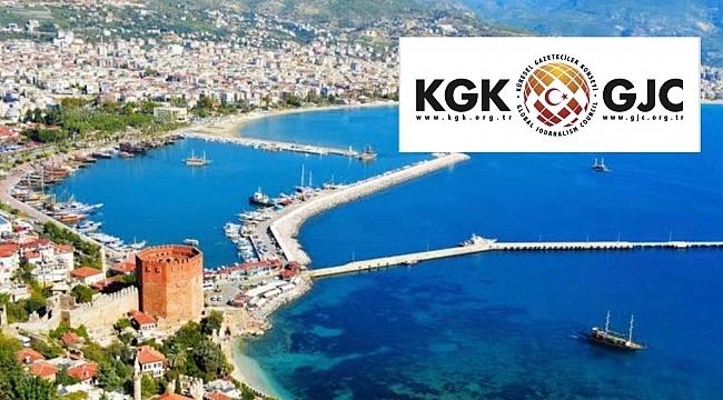 Küresel Gazeteciler Konseyi Alanya'da buluşacak