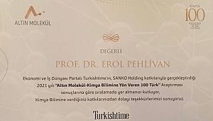 Prof. Pehlivan'a büyük onur
