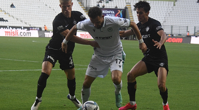 Konyaspor dolu dizgin 3-1