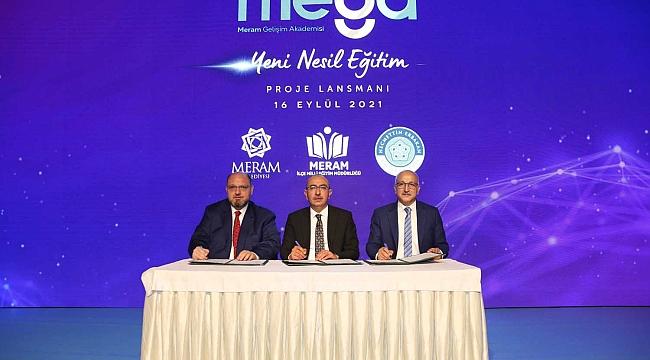 Meram Belediyesi'nden MEGA proje