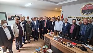 Meram'da vatandaş buluşmaları sürüyor