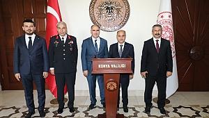 Emniyet Genel Müdürü Aktaş Konya'da