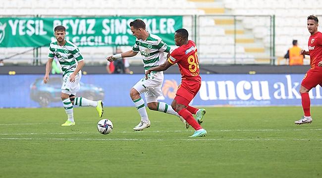 Konyaspor rahat kazandı 2-0