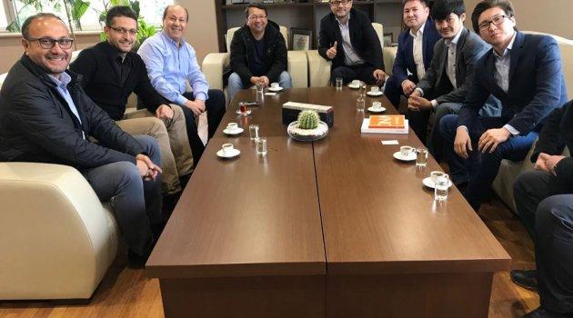 ASKON Kazak işadamlarını ağırladı