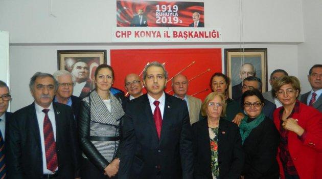Av. K. Tarkan Büyükoktar CHP Konya İl Başkanlığına aday