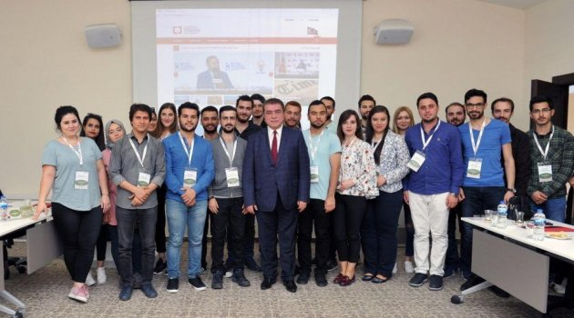 Genç iletişimciler BYEGM'yi ziyaret etti