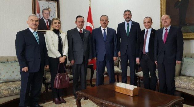 İYİ Parti'den Vali Canbolat'a ziyaret