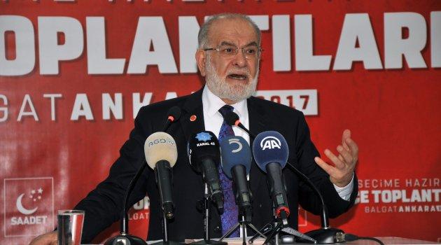 Karamollaoğlu: Seçim barajı tamamen kaldırılmalı