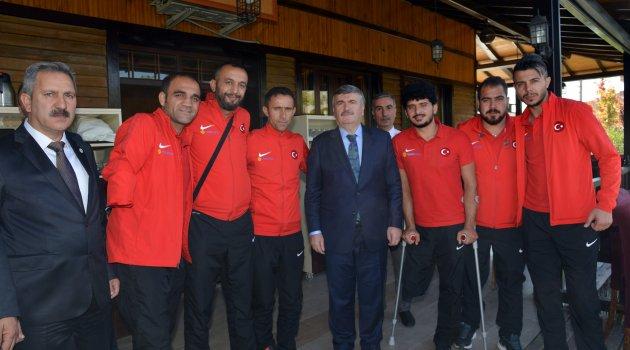 Konya Ampute Futbol Milli Takımını Ağırlıyor