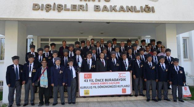 Konyalı Gaziler 43 yıl sonra Kıbrıs'ta